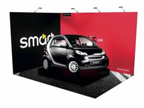 Stand nomade avec Stand transportable 12m²