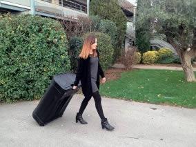 valise de transport pour stand