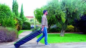 valise de transport stand transportable