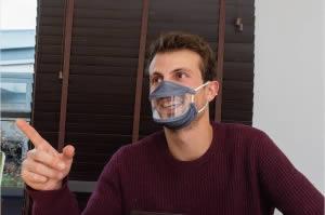 vente de masque inclusif