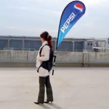 voile événementielle Pepsi